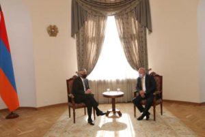 Вице-премьер Мгер Григорян принял посла Российской Федерации
