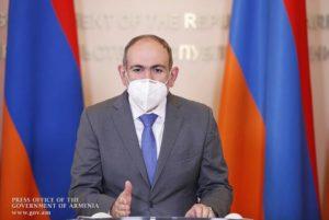 Никол Пашинян: Я был инфицирован коронавирусом не менее 7 дней и не знал об этом