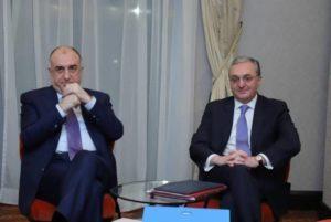 Началась видеоконференция с участием глав МИД Армении и Азербайджана и сопредседателей МГ ОБСЕ