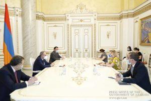 Премьер-министр и руководитель офиса Совета Европы в Армении обсудили повестку реформ в Армении