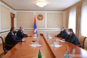 Президент Арцаха принял генерального прокурора Армении