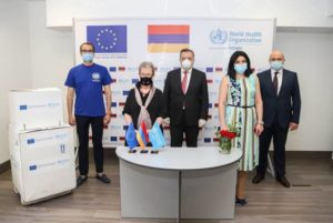 ЕС и ВОЗ передали Армении 10 тыс диагностических тестов