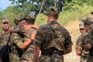 Сын премьер-министра Армении завершил службу в Армии обороны Арцаха