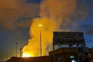Мощный взрыв прогремел в иранской провинции Тегеран