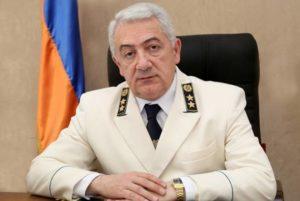Заместитель генпрокурора Армении освобожден с должности