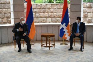 Президент Саркисян: После выборов Арцах демонстрирует пример единства