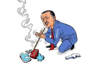 Турецкий диктатор теперь хочет взять под контроль соцсети