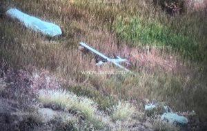 В сети появилось новое фото сбитого армянскими ВС азербайджанского беспилотника