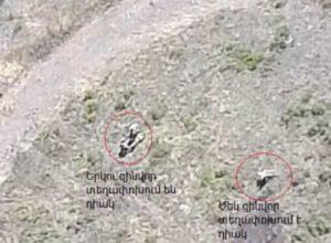 Азербайджан сообщает о гибели сверхсрочника, Минобороны Армении выложило видео с многочисленными трупами (Фото, видео)