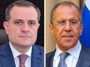 Лавров и Байрамов обсудили ситуацию на азербайджано-армянской границе