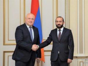 Спикер парламента Армении обратил внимание председателя ПА ОБСЕ на заявления Анкары