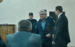 Обвиняемый Саргсян не явился в суд