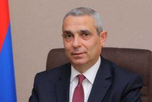 Глава МИД Арцаха направил поздравительные письма группе членов Конгресса США