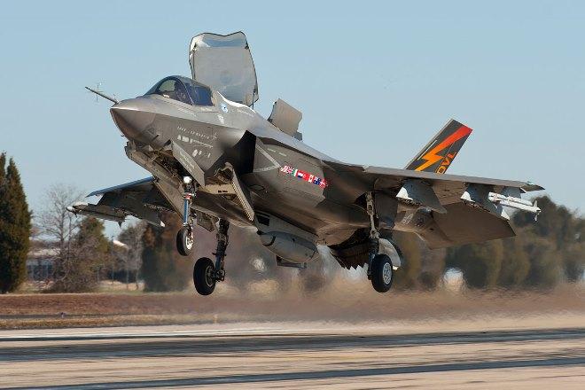 Предназначенные для Турции F-35 переданы ВВС США