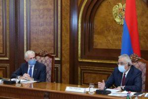Под председательством Мгера Григоряна и Шомби Шарпа состоялось рабочее обсуждение