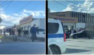 В сети появилось видео нападения на магазин «Армянский дом» в Москве