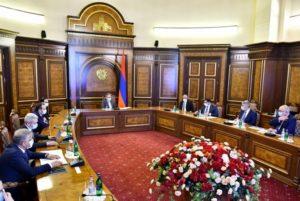Под председательством Никола Пашиняна обсужден ход работ по строительству водохранилища Капса