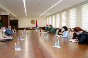 Глава Минобороны Армении обсудил с послом РФ военно-политическую ситуацию в регионе