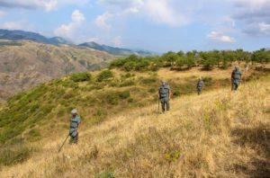 Армянские саперы начали разминирование территории близ села Корнидзор в Сюнике
