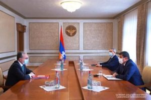 Президент Арцаха и глава МИД Армении обсудили карабахский вопрос