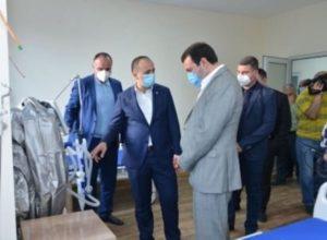 Новое отделение МЦ Мартуни в ближайшие дни примет первых зараженных коронавирусом пациентов