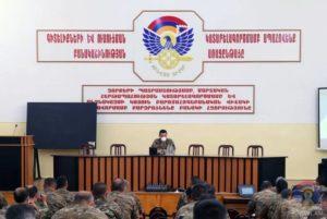 Под председательством Джалала Арутюняна подведены итоги учений