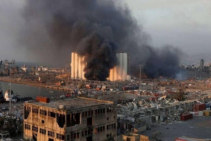 МИД Армении: Число армян, погибших в результате взрыва в Бейруте, возросло до 6