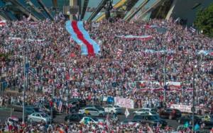 Митинг против Лукашенко в Минске собрал 500 тысяч человек