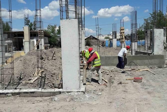 Начато строительство детского сада Святой Мариам в Гюмри