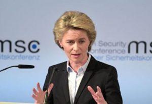 Глава Еврокомиссии присоединилась к растущему числу политиков, призывающих к санкциям в отношении Беларуси
