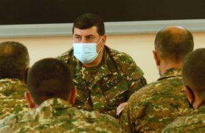 В Армении прошли офицерские сборы армяно-российской объединенной группировки