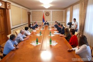 Араик Арутюнян созвал рабочее совещание