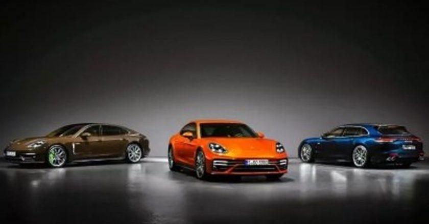 Porsche показал обновленную Panamera