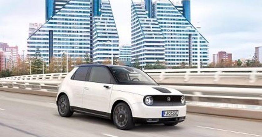Honda приступит к продаже своего первого электромобиля для широкого рынка 30 октября