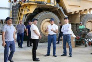 В Арцахе строится завод по производству молибденового концентрата