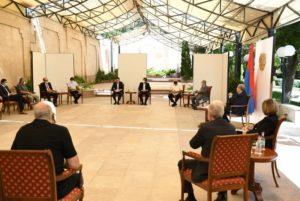 Президент Саркисян встретился с руководителями ряда учреждений культуры