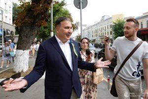Грузия отреагировала на заявление Саакашвили о возвращении на родину