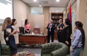 В Вильнюсе открылось почетное консульство Армении