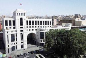 Ереван требует у Баку пересмотреть политику применения силы и не дестабилизировать регион