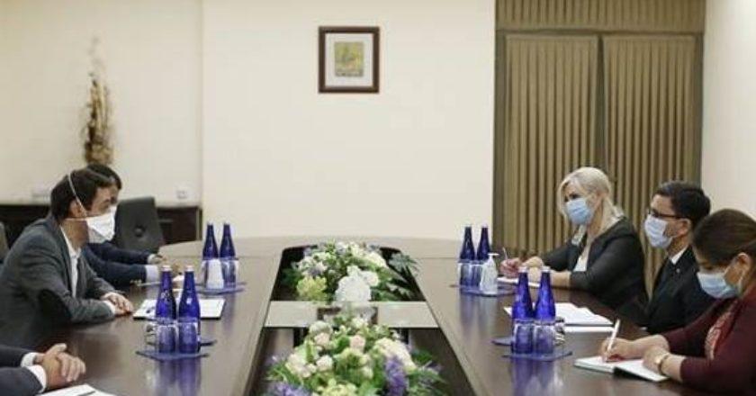 Мэр Еревана принял Чрезвычайного и Полномочного посла Туркменистана