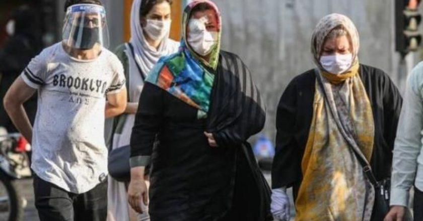 В Иране зарегистрировано 2139 новых случаев заражения коронавирусом