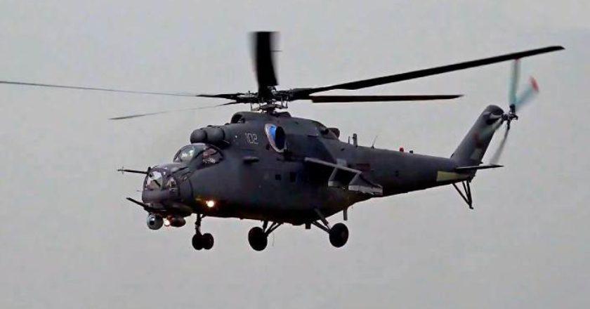 Россия поставила Узбекистану еще четыре вертолёта Ми-35М