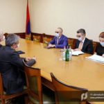 Председатель КГД Армении принял посла Ирана