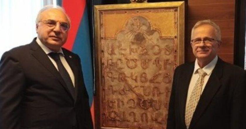 В Израиле официально открылось посольство Армении
