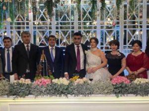 Президент Арцаха присутствует на свадьбе дочери директора СНБ республики