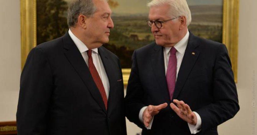 Германия и впредь будет поддерживать Армению как надежного партнера – президент Штайнмайер
