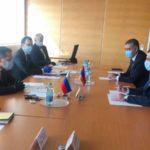Папикян провел в Вене встречу с гендиректором госкорпорации «Росатом»