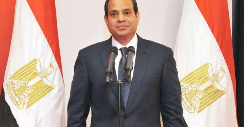Президент Египта Абдель Фаттах Аль Сиси направил поздравление президенту Армену Саркисяну