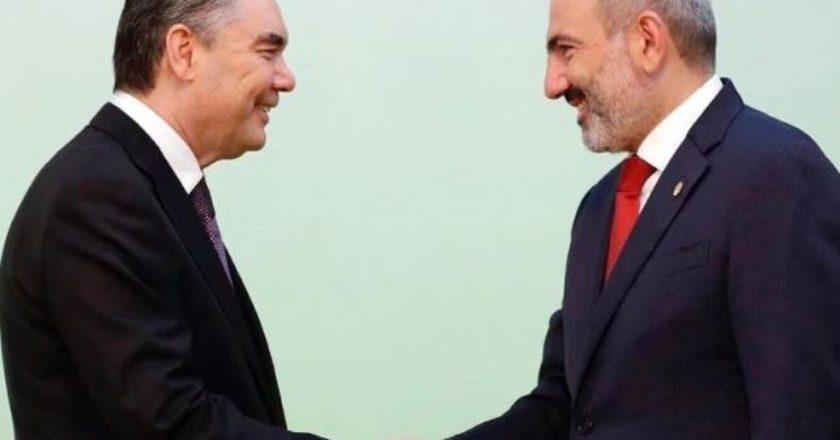 Поздравительное послание президента Туркменистана Гурбангулы Бердымухамедова
