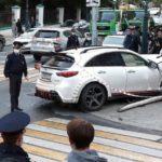 В Москве задержали азербайджанца, сбившего людей на тротуаре